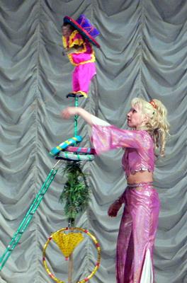 Звезда Одесского цирка - обезьянка Маша